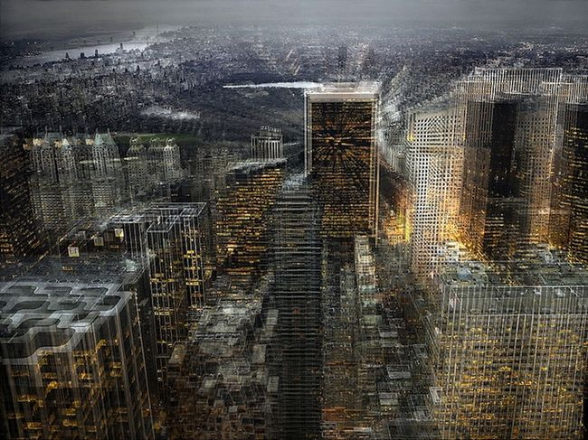 Серия фотографий - Zooming In an Out of New York