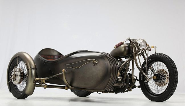 Мотоцикл Union от Abnormal Cycles