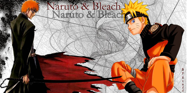 Bleach and Naruto