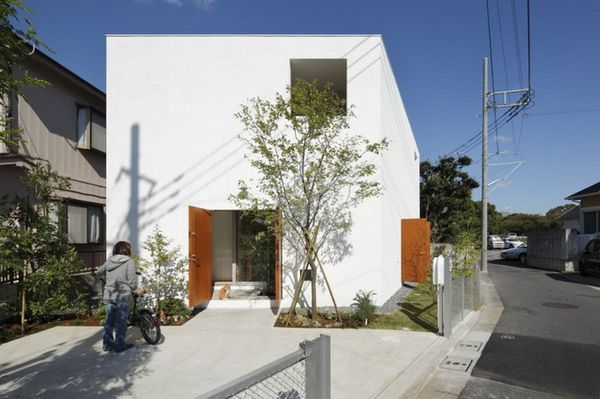 Дом Inside Out от Takeshi Hosaka Architects