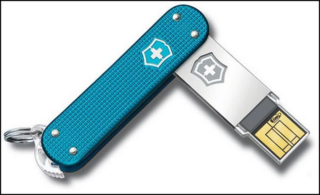 Флешка Victorinox Slim Flash