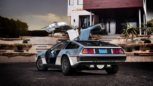 Электромобиль DeLorean