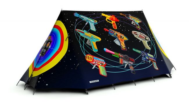 Дизайнерские палатки от FieldCandy