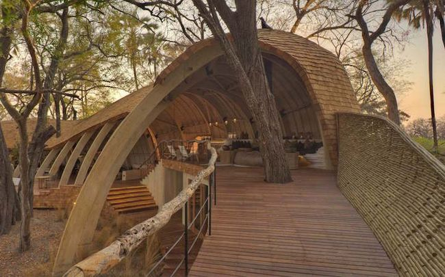 Sandibe Okavango Safari Lodge от Михаэлиса Бойда и Ника Плюмана (7)