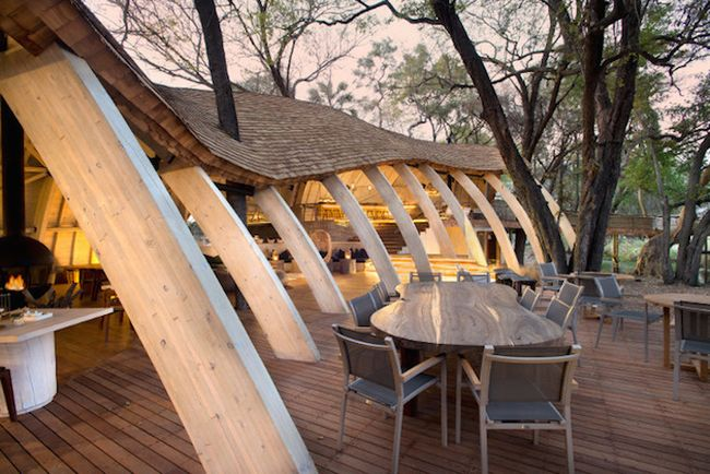 Sandibe Okavango Safari Lodge от Михаэлиса Бойда и Ника Плюмана (9)