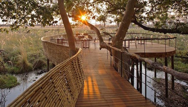 Sandibe Okavango Safari Lodge от Михаэлиса Бойда и Ника Плюмана (11)