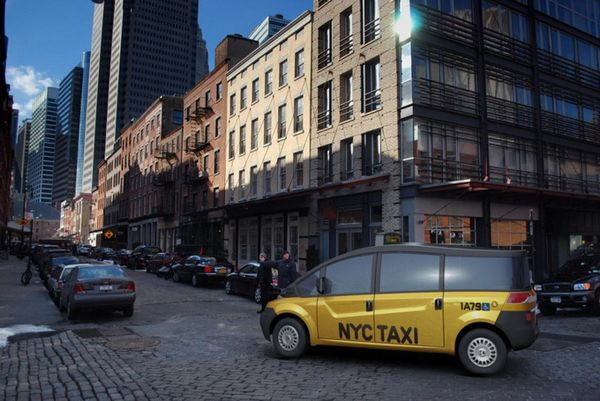 Авто Концепт Karsan V1 New York City Taxi