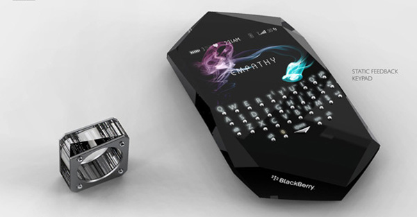 Концепт телефона Blackberry Empathy