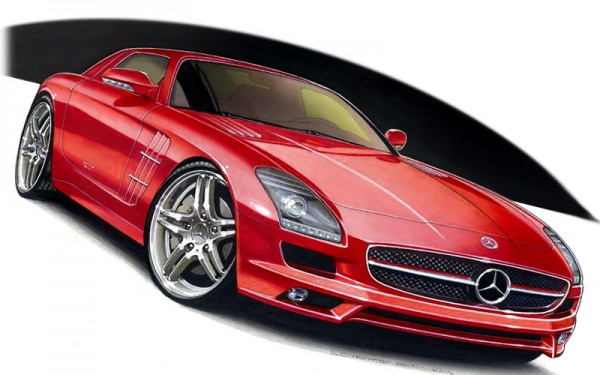 Mercedes-Benz SLS AMG Gullwing - 2011