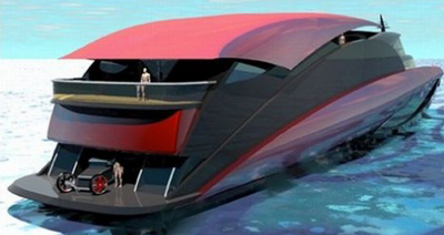 Яхта Blackjack Superyacht